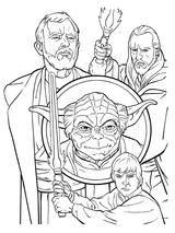 Imprimer le coloriage : Star Wars, numéro 1096