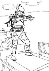 Imprimer le coloriage : Star Wars, numéro 1103