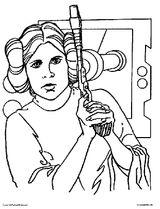 Imprimer le coloriage : Star Wars, numéro 128081
