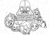Imprimer le coloriage : Star Wars, numéro 61351