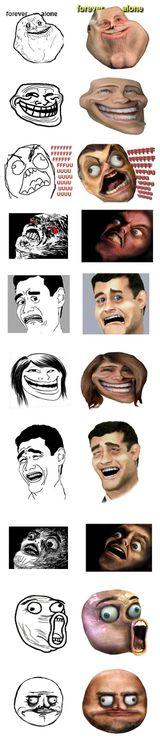 Imprimer le dessin en couleurs : Troll face, numéro 92060