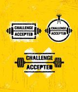 Imprimer le dessin en couleurs : Challenge accepted, numéro 31db2db4