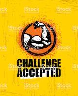 Imprimer le dessin en couleurs : Challenge accepted, numéro 41c29ab5