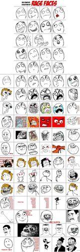 Imprimer le dessin en couleurs : OMG Rage Face, numéro 169011