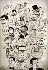 Imprimer le dessin en couleurs : Troll face fuuuu, numéro 624231