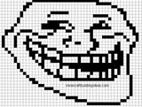 Imprimer le coloriage : Troll face lol, numéro 114206