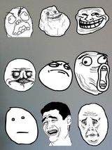 Imprimer le dessin en couleurs : Troll face me gusta, numéro 159041