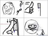 Imprimer le dessin en couleurs : Troll face me gusta, numéro 37791