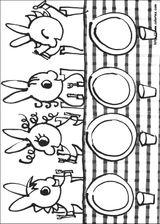 Imprimer le coloriage : Trotro, numéro 3032