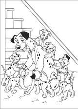 Imprimer le coloriage : Walt Disney, numéro 145374