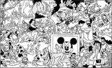 Imprimer le coloriage : Fantasia, numéro 15257