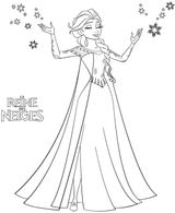 Coloriages A Imprimer La Reine Des Neiges Page 1