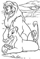 Coloriages A Imprimer Le Roi Lion Page 1
