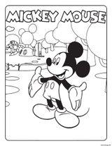 Coloriages à Imprimer Mickey Mouse Numéro 17803