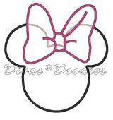 Dessins En Couleurs A Imprimer Minnie Mouse Numero 12116