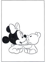 Imprimer le dessin en couleurs : Minnie Mouse, numéro 12122