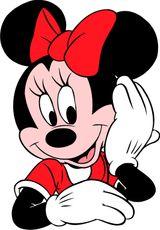 Imprimer le dessin en couleurs : Minnie Mouse, numéro 476663