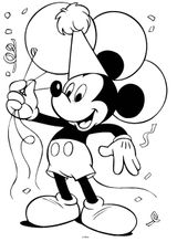Imprimer le dessin en couleurs : Minnie Mouse, numéro 59408