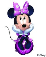 Imprimer le dessin en couleurs : Minnie Mouse, numéro 622918