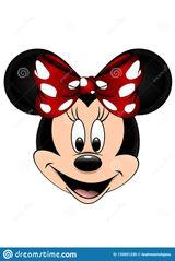 Imprimer le dessin en couleurs : Minnie Mouse, numéro aecb4ab8