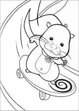 Imprimer le coloriage : Zhu Zhu Pets, numéro 120b2629