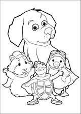 Imprimer le coloriage : Zhu Zhu Pets, numéro 1f6373be