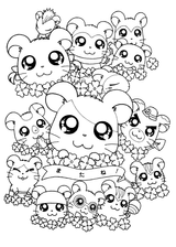 Imprimer le coloriage : Zhu Zhu Pets, numéro 23e87ac8