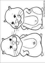 Imprimer le coloriage : Zhu Zhu Pets, numéro 306380
