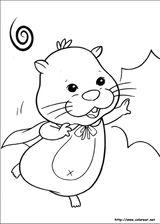Imprimer le coloriage : Zhu Zhu Pets, numéro 306408