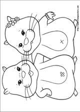 Imprimer le coloriage : Zhu Zhu Pets, numéro 306409