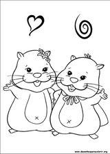 Imprimer le coloriage : Zhu Zhu Pets, numéro 310575