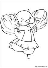 Imprimer le coloriage : Zhu Zhu Pets, numéro 426251