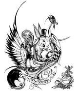 Imprimer le coloriage : Personnages féeriques, numéro 1584