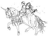 Imprimer le coloriage : Personnages féeriques, numéro 1587