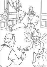 Imprimer le coloriage : Personnages féeriques, numéro 1592