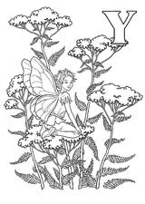 Imprimer le coloriage : Personnages féeriques, numéro 16334