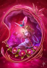 Imprimer le dessin en couleurs : Personnages féeriques, numéro 165414
