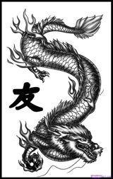 Imprimer le coloriage : Dragon, numéro 127862