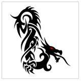 Imprimer le coloriage : Dragon, numéro 127865