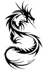 Imprimer le coloriage : Dragon, numéro 127868