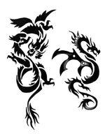 Imprimer le coloriage : Dragon, numéro 127890