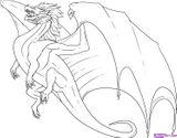 Imprimer le coloriage : Dragon, numéro 141637