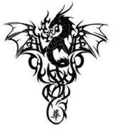 Imprimer le coloriage : Dragon, numéro 145519
