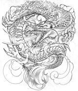 Imprimer le coloriage : Dragon, numéro 145520