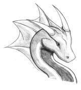 Imprimer le coloriage : Dragon, numéro 1573ae45