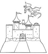Imprimer le dessin en couleurs : Dragon, numéro 58453