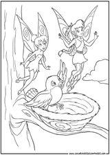 Imprimer le coloriage : Fée Clochette, numéro 113447