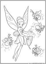 Imprimer le coloriage : Fée Clochette, numéro 128290