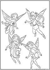 Imprimer le coloriage : Fée Clochette, numéro 145790