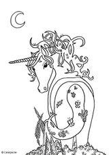 Imprimer le dessin en couleurs : Licorne, numéro 117419